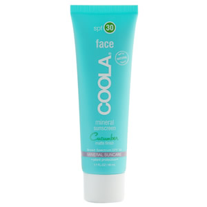 Coola Mineral Face Sunscreen SPF 30 Matte Cucumber