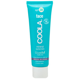 Coola Mineral Face Sunscreen Unscented SPF 30 Matte Tint