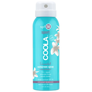 Coola Travel Continuous Spray SPF 50 Unscented