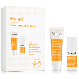 Murad Travel Light, Travel Bright set