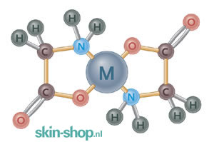 Vitals Magnesium(bisglycinaat) - voedseldeeltjes isoleren de mineraal-ionen