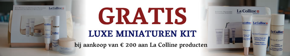 La Colline actie gratis miniaturen kit