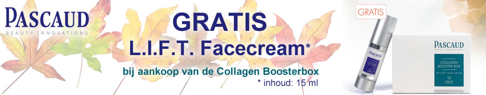 Pascaud actie gratis L.I.F.T. Facecream